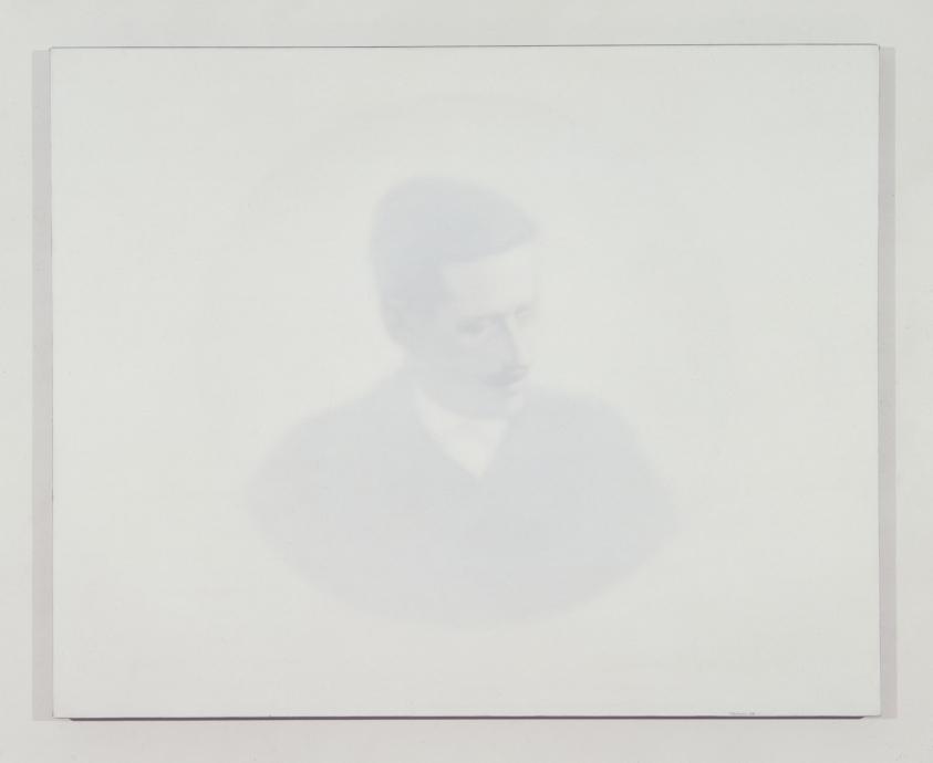 Thomas Chimes white painting Joyce