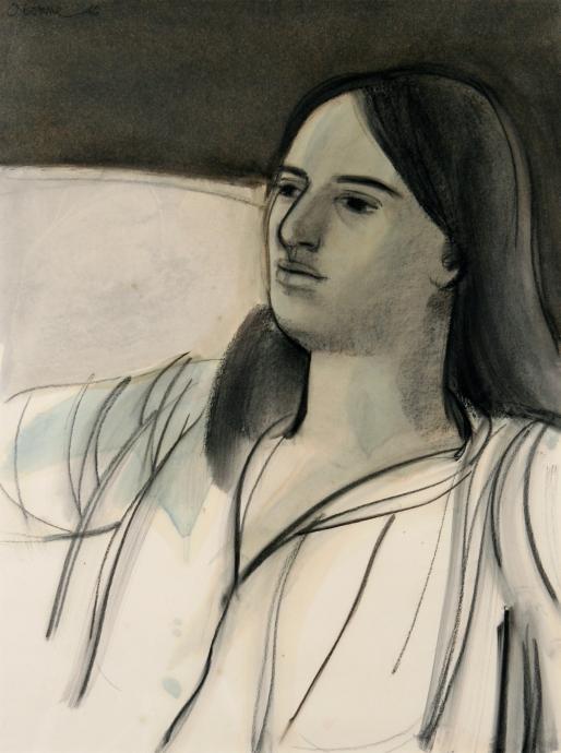 Elizabeth Osborne Untitled, Portrait of a Young Woman 1
