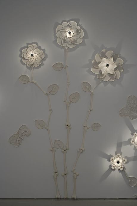 Virgil Marti installation Locks Gallery