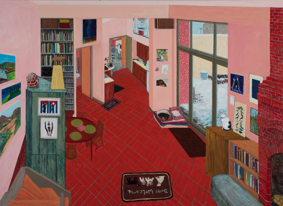 Sarah McEneaney, Home