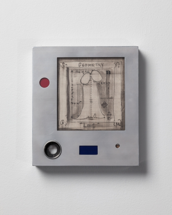 Thoma Chimes Geometry Love Locks Gallery Metal Box
