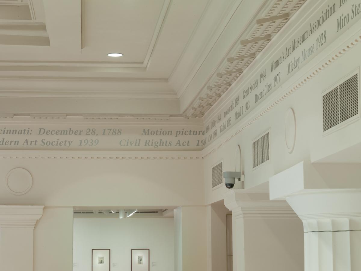 """Untitled"" (Portrait of Cincinnati Art Museum)"