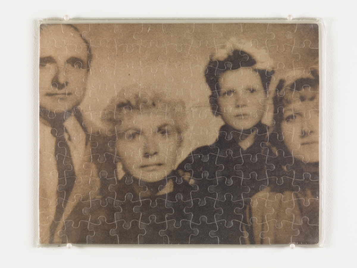 """Untitled"" (Klaus Barbie as a Family Man)"