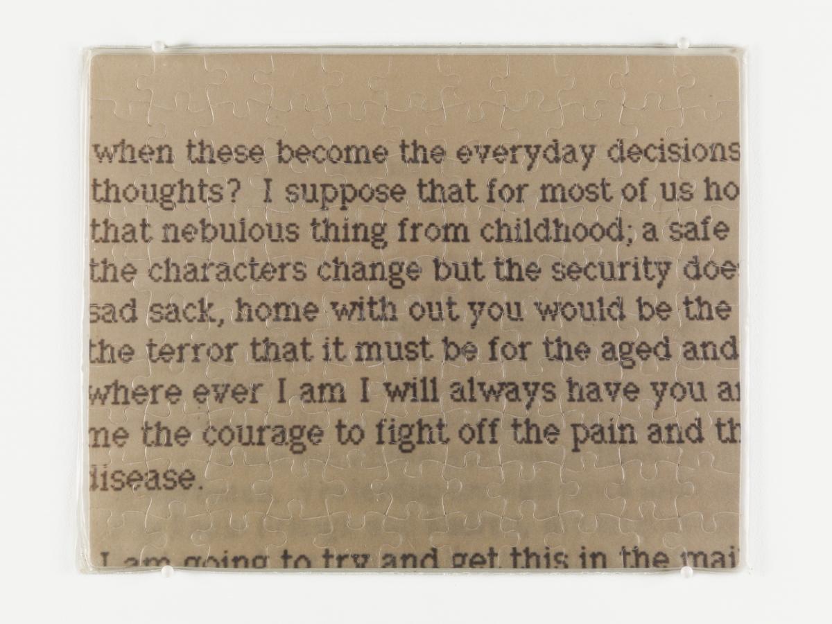 """Untitled"" (Lover's Letter)"