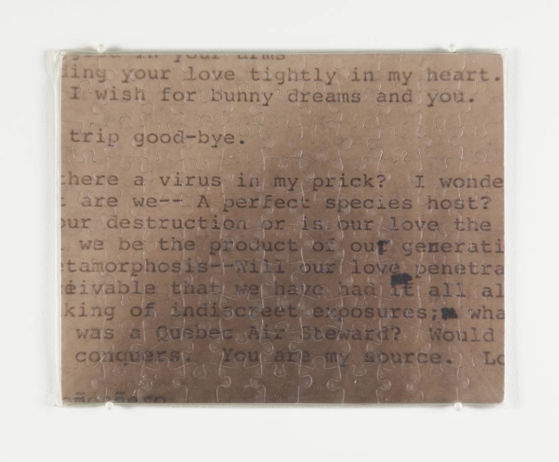 """Untitled"" (Love Letter From The War Front)"