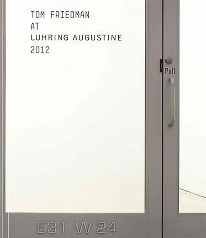 Tom Friedman at Luhring Augustine 2012
