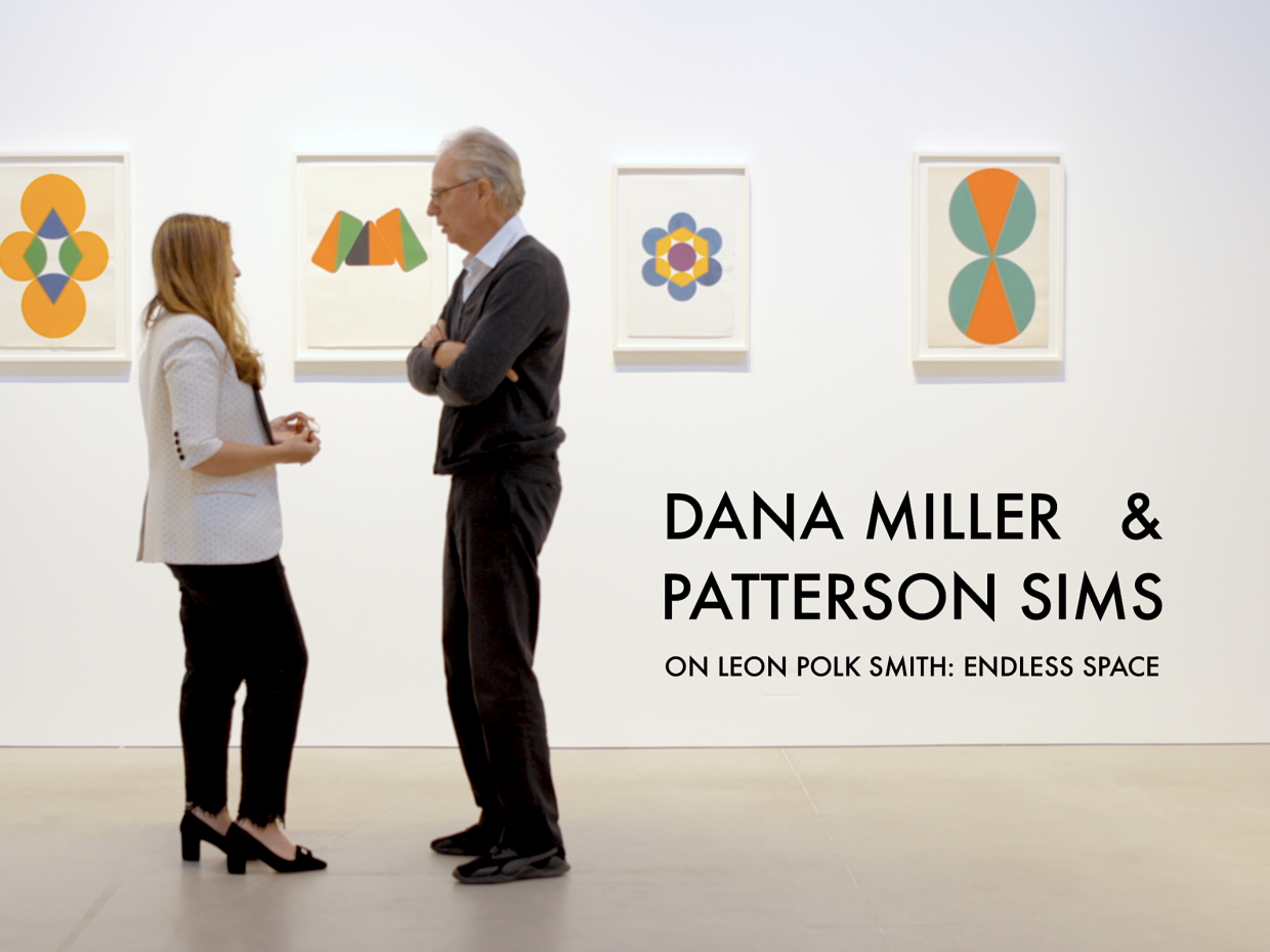 Dana Miller and Patterson Sims on Leon Polk Smith: Endless Space