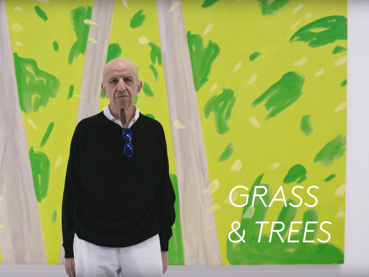 Interview with Alex Katz at Gray Warehouse