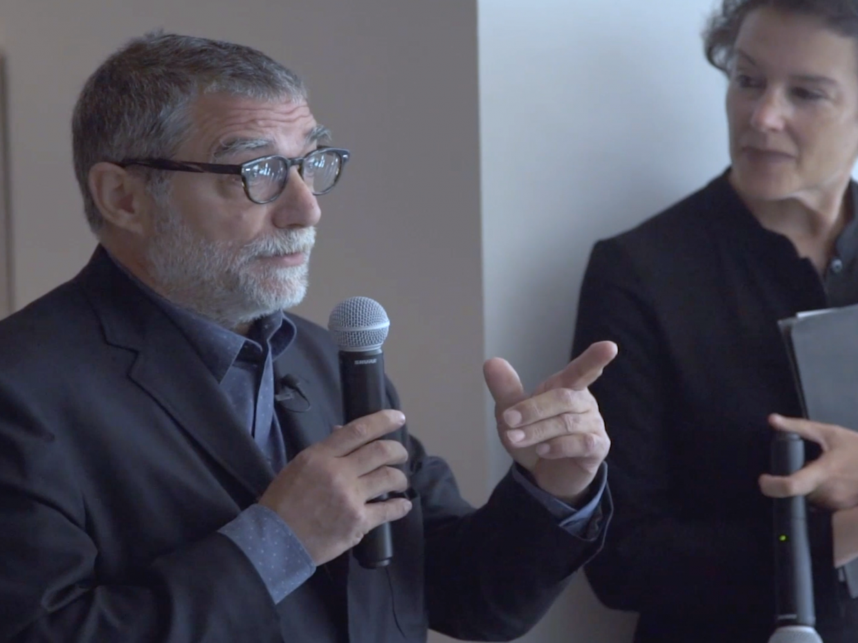 Gallery Talk with Jaume Plensa and Brooke Kamin Rapaport
