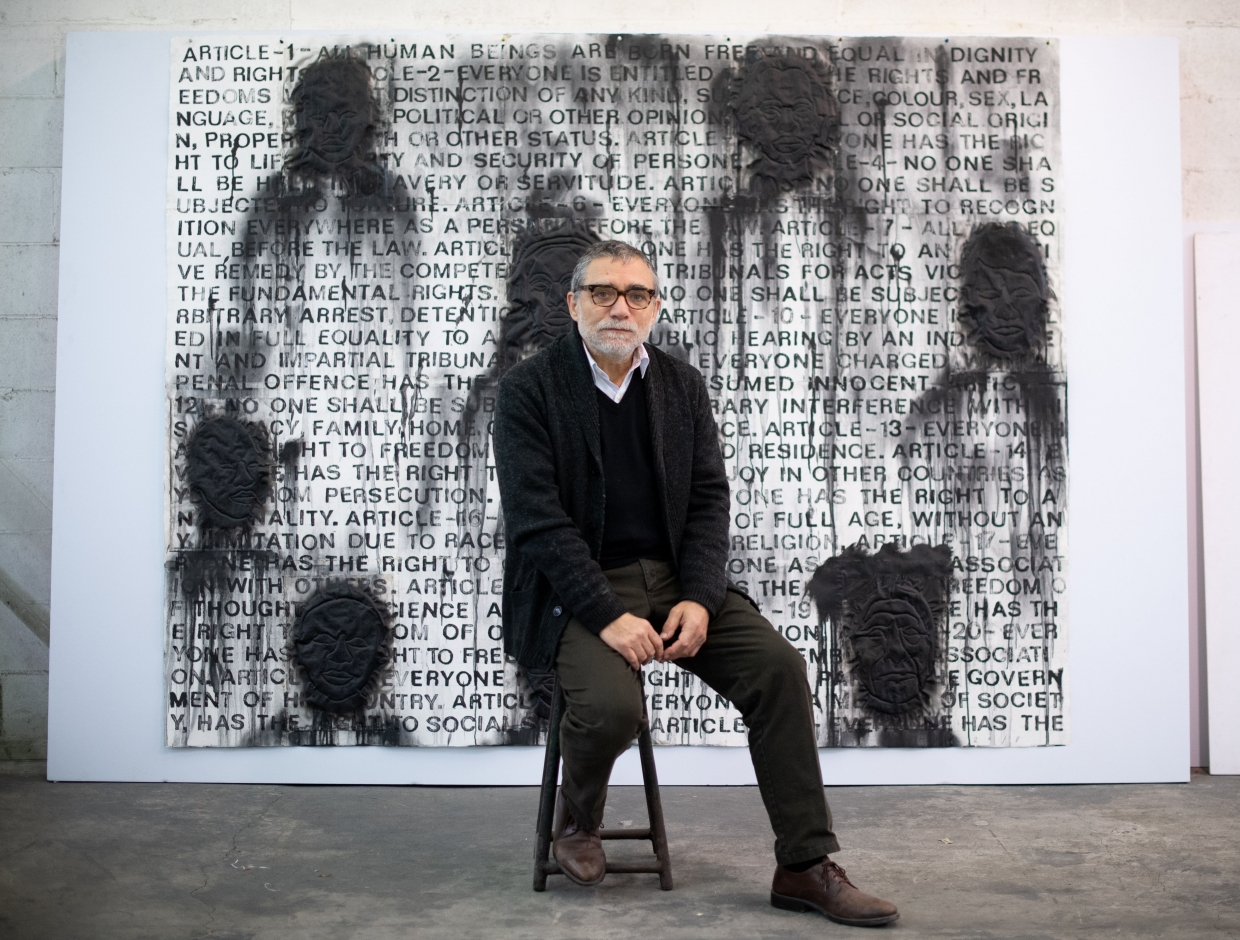 In Dialogue: Jaume Plensa and Paul Gray