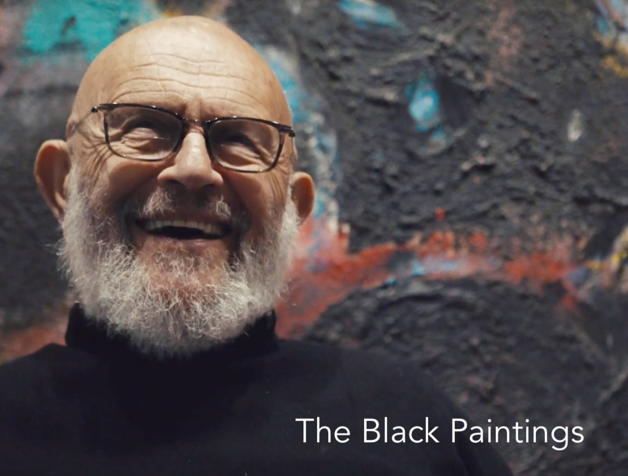 Interview with Jim Dine at Richard Gray Gallery, New York