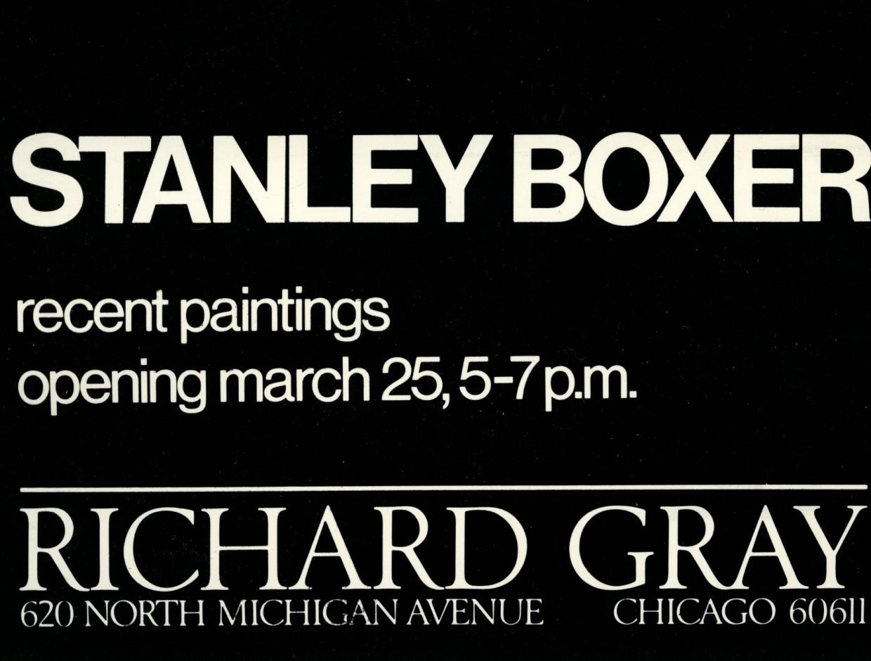 Stanley Boxer