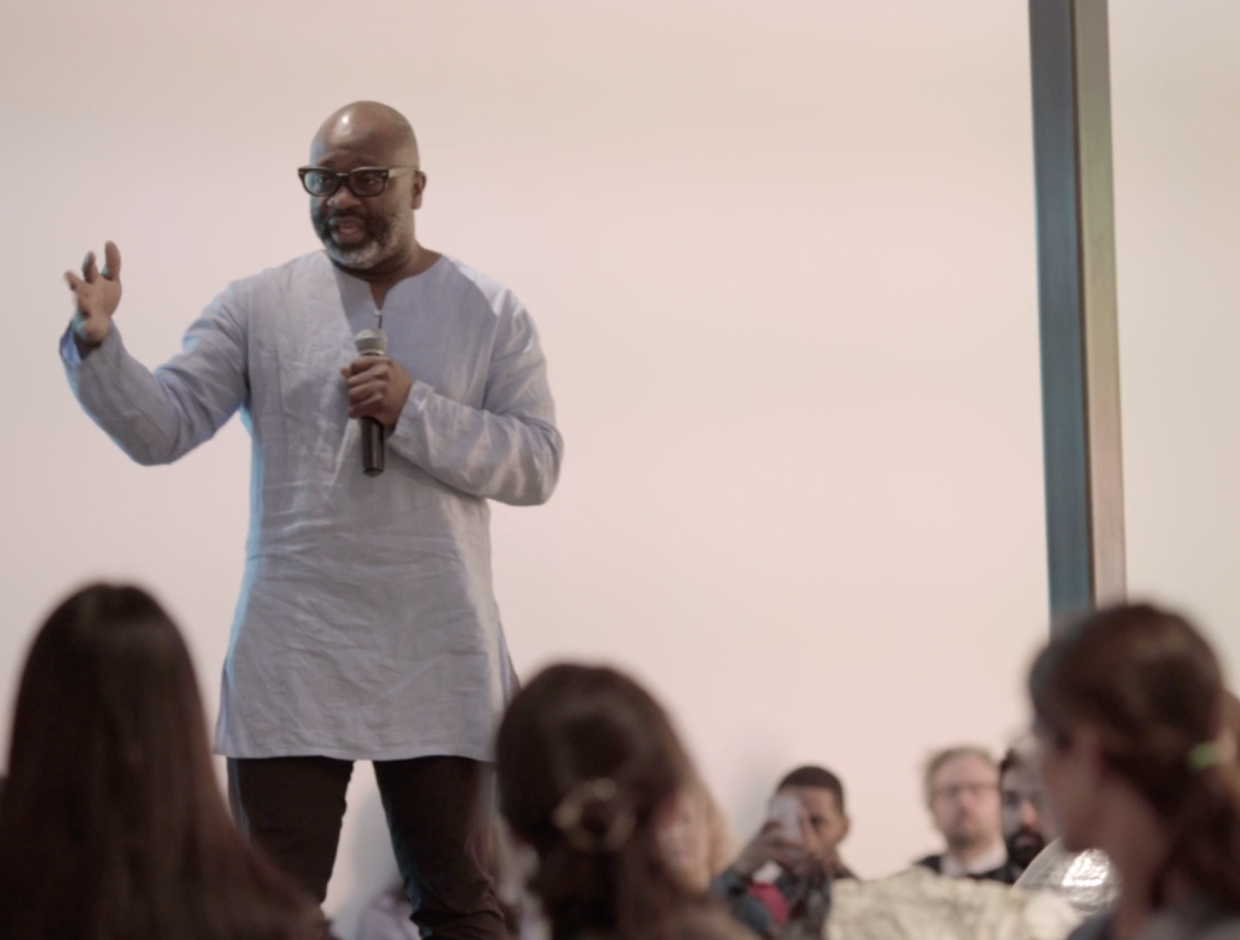 Gallery Talk: Theaster Gates, Michelle Grabner and Zachary Cahill