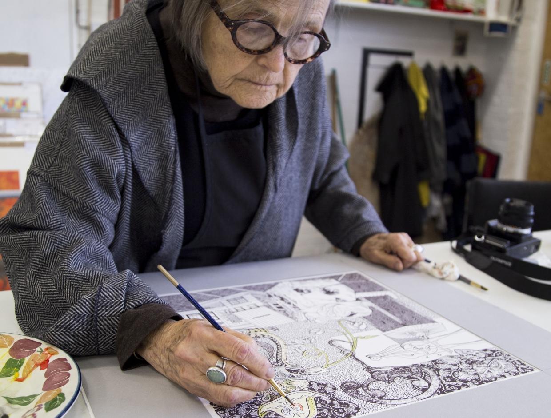 Ellen Lanyon: A Bit of Magic