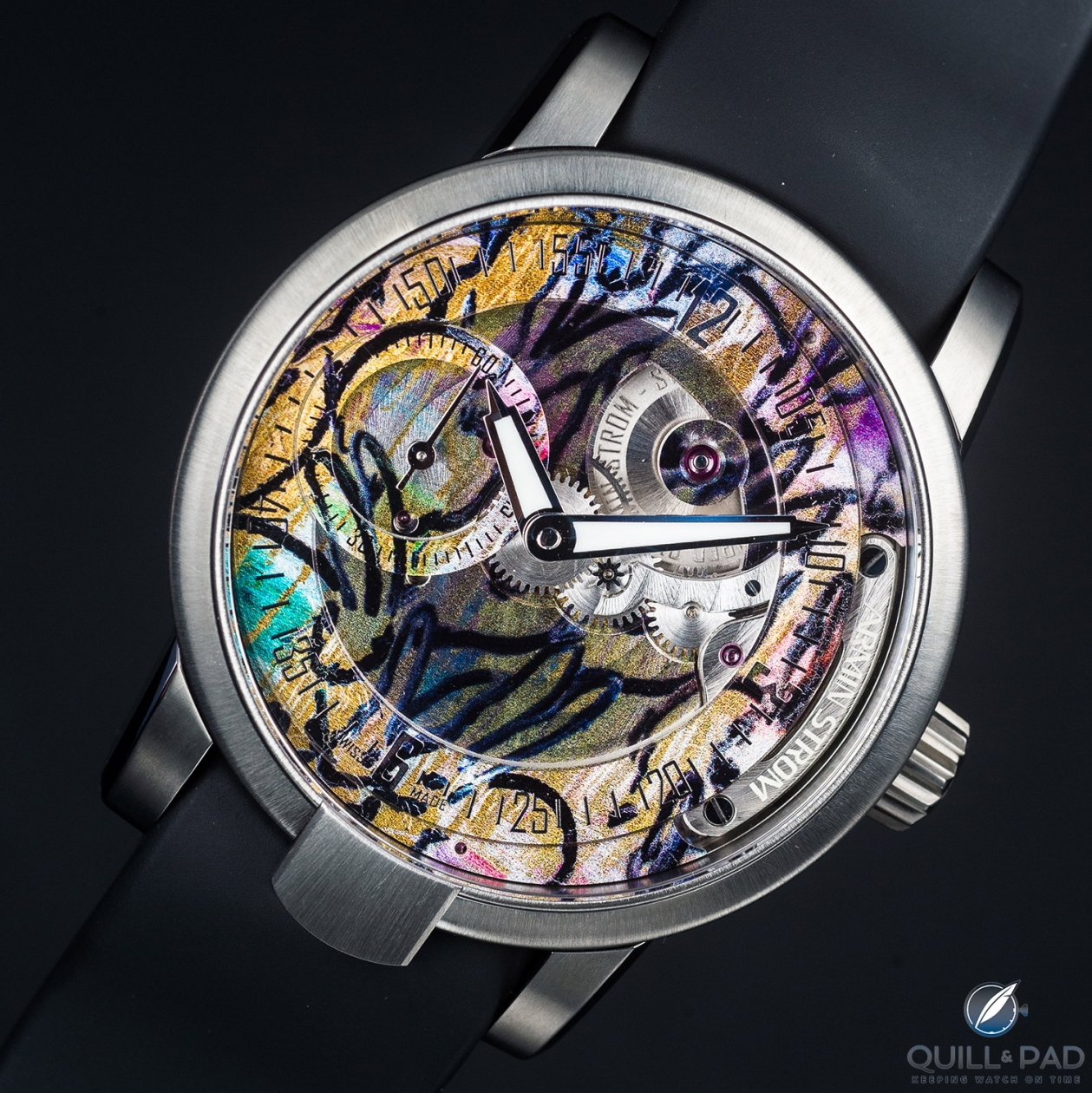 Armin Strom Manual Hunt Slonem Edition For Only Watch 2017: Artfully Neo-Expressionist And Definitely Unique