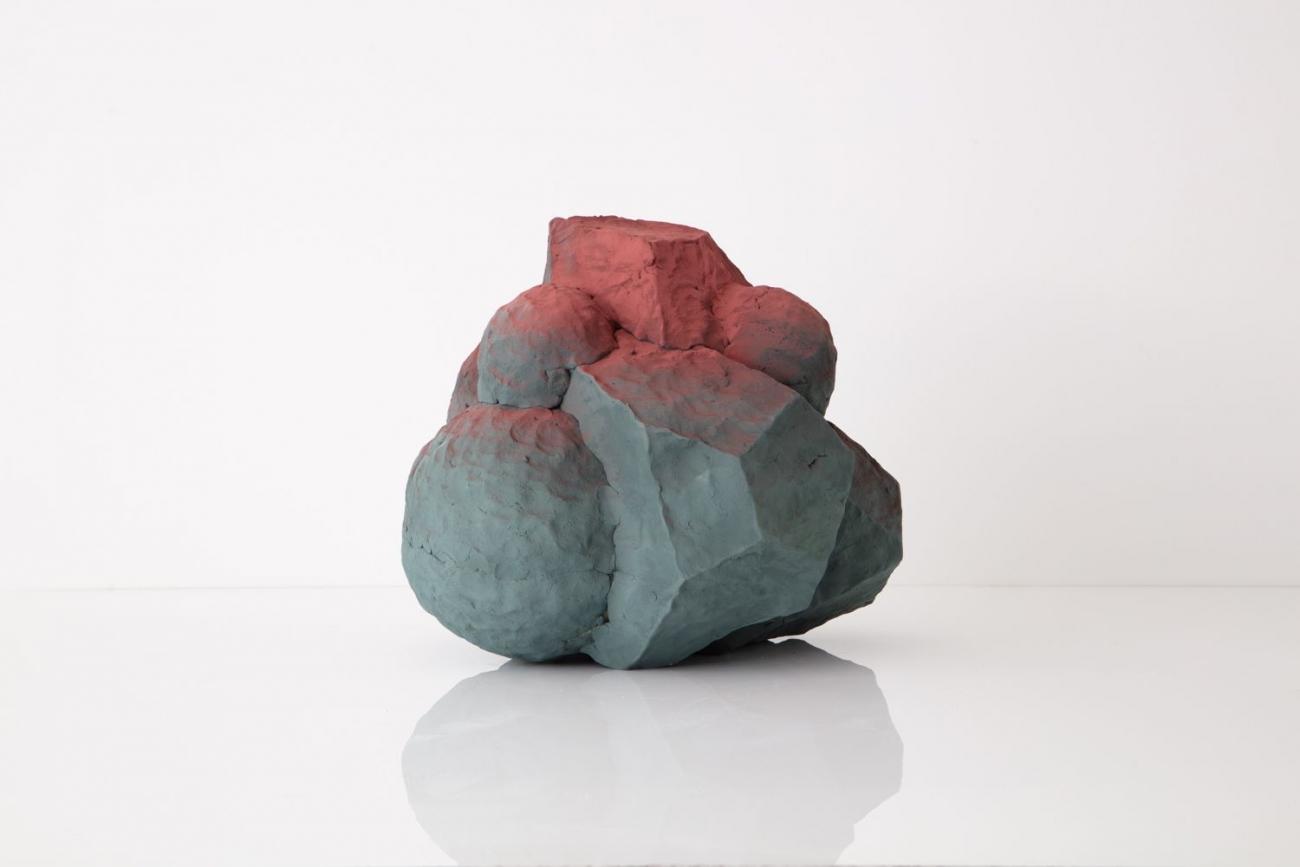 Arbiter, 2019 Ceramic and enamel