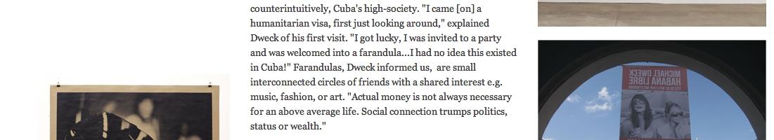 Michael Dweck: High Society in Havana