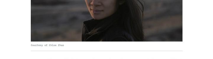 Chloé Zhao Wins Top DGA Award for 'Nomadland'