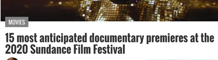 15 most anticipated documentary premieres at the 2020 Sundance Film Festival