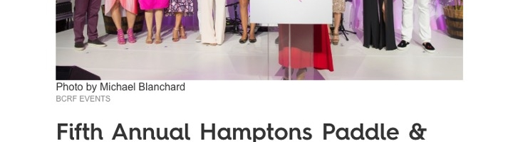 Fifth Annual Hamptons Paddle & Party for Pink Raises $1.8 Million for Research