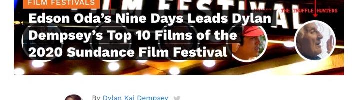 Edson Oda's Nine Days Leads Dylan Dempsey's Top 10 Films of the 2020 Sundance Film Festival