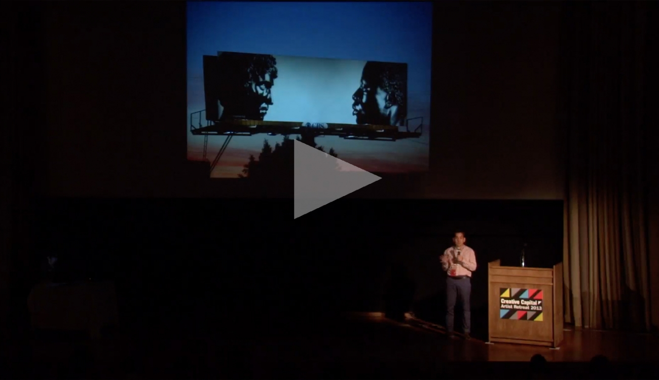 """KEN GONZALES-DAY: Creative Capital: """"Art @ the Edge"""" at IdeaFestival"""