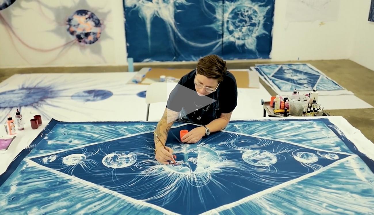 LIA HALLORAN: C.O.L.A. VISUAL ART FELLOW FEATURE