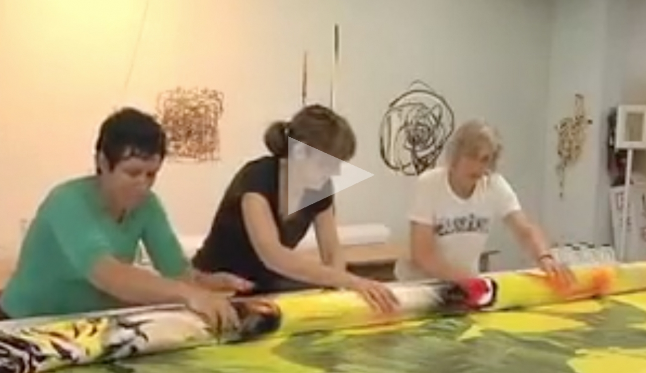 MARGIE LIVINGSTON: Painting as Sculpture