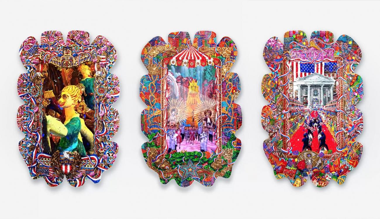 FEDERICO SOLMI: Triptych 2019