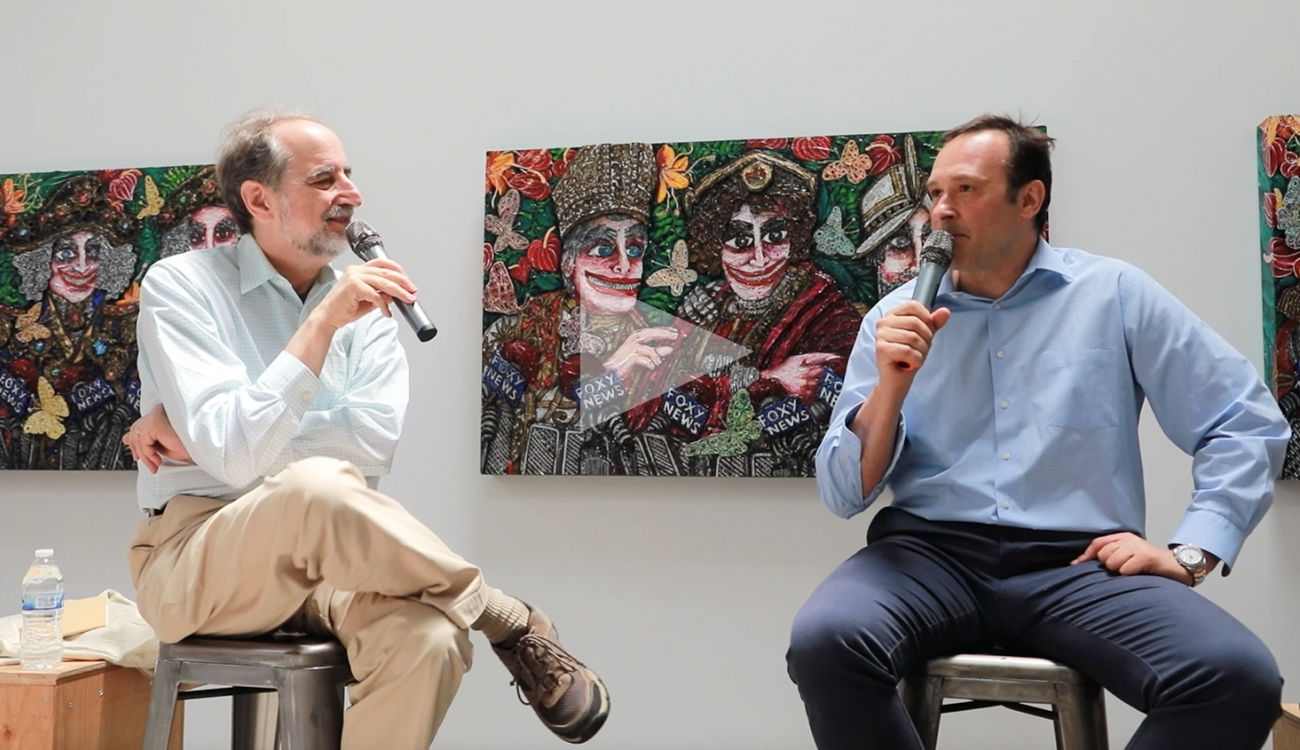 FEDERICO SOLMI AND LAWRENCE WESCHLER IN CONVERSATION