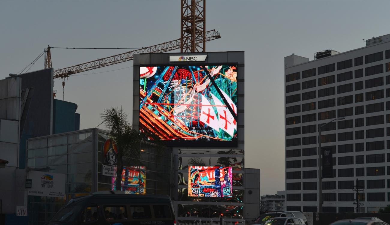 FEDERICO SOLMI: Sunset Billboard