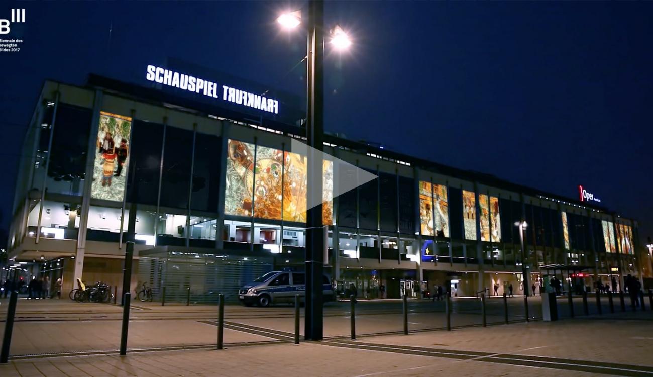 "FEDERICO SOLMI: ""The Great Farce,"" B3 Biennial of Moving Image (2017), Schauspiel Oper Frankfurt"