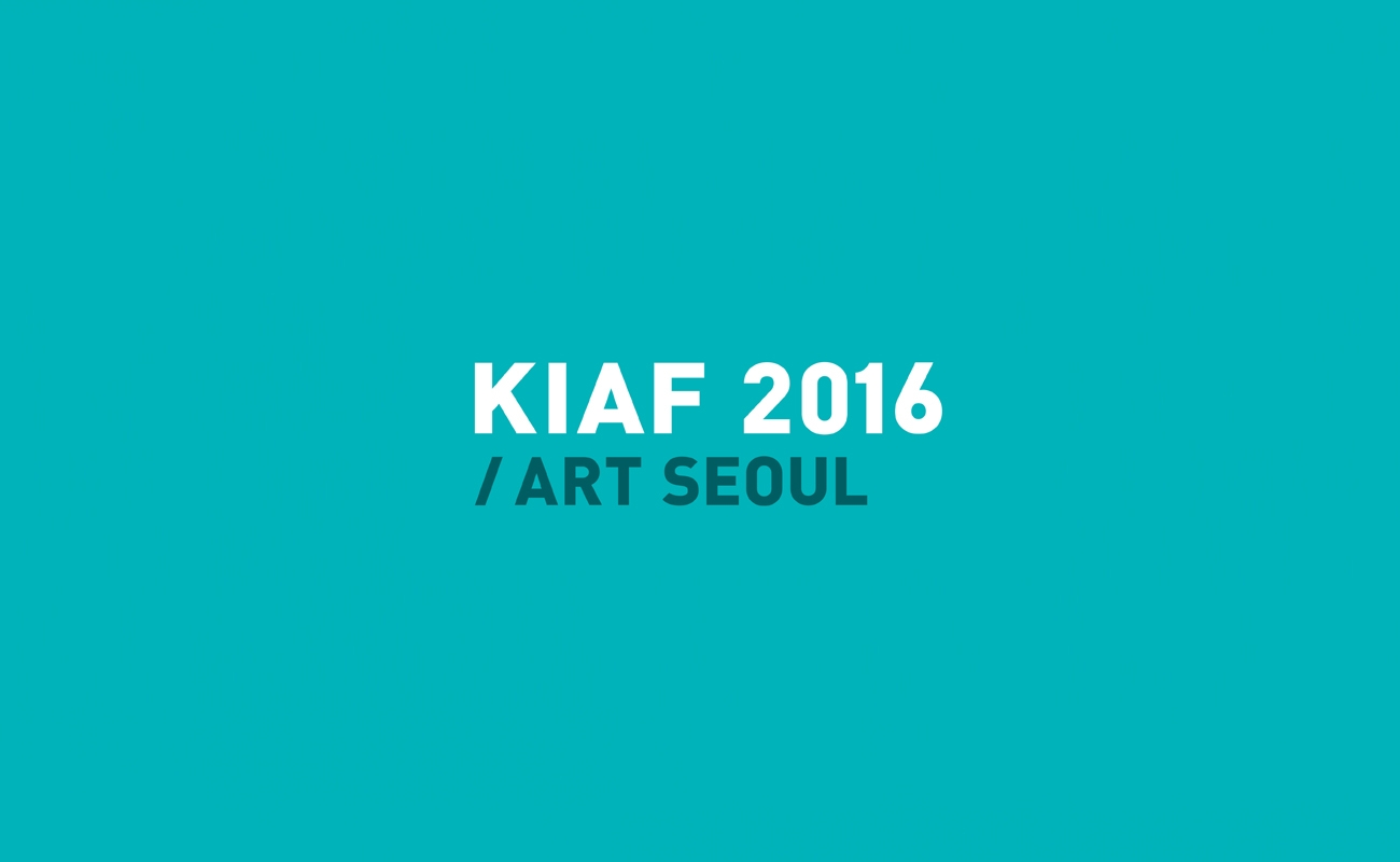 Korea International Art Fair 2016, Seoul, South Korea
