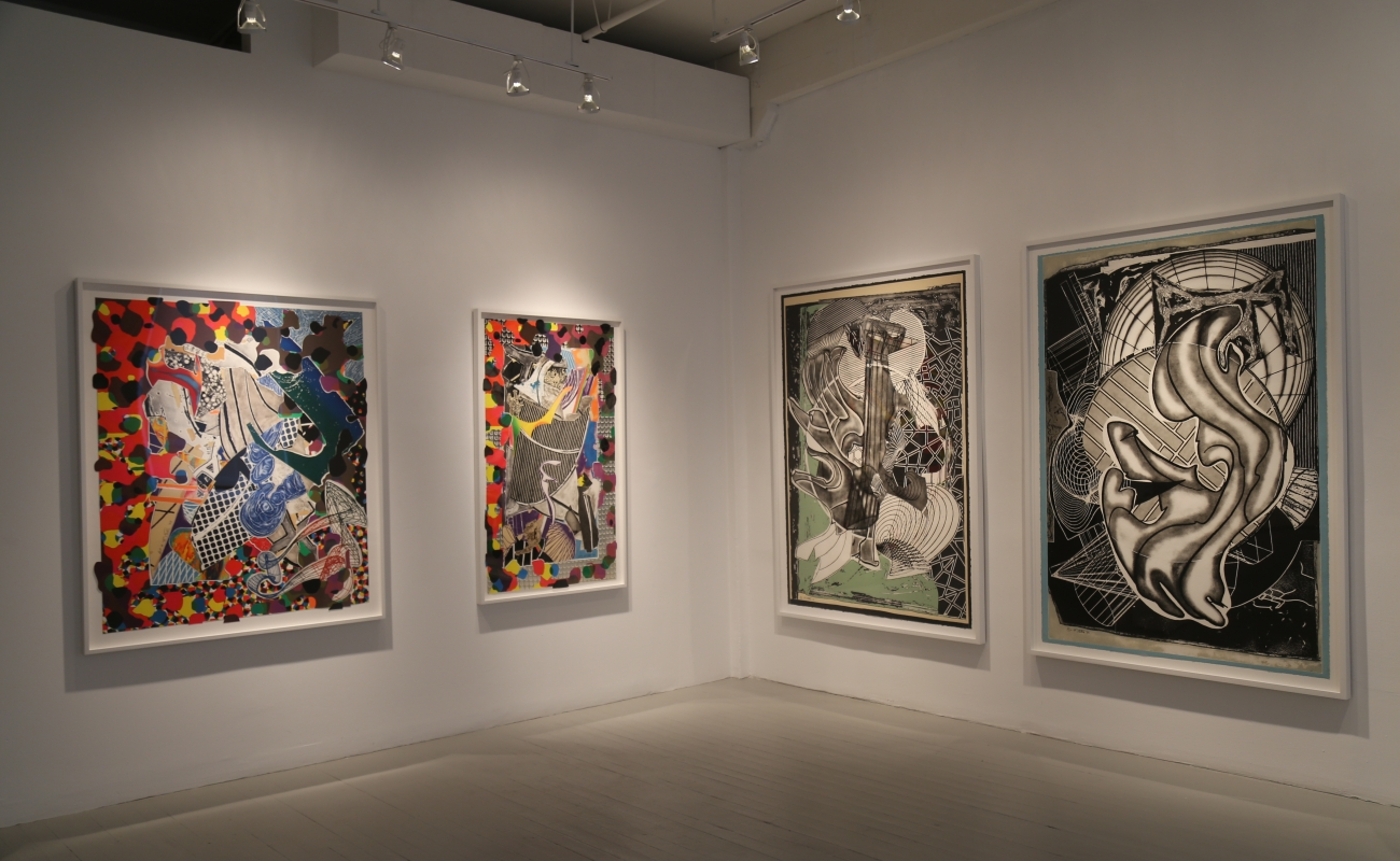 Frank Stella / Selected Prints from the Moby Dick Series