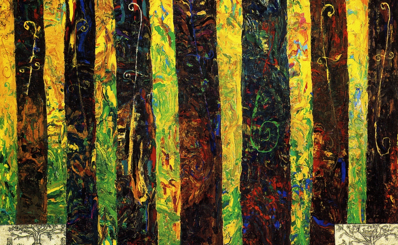 William T. Wiley: The Forest Series