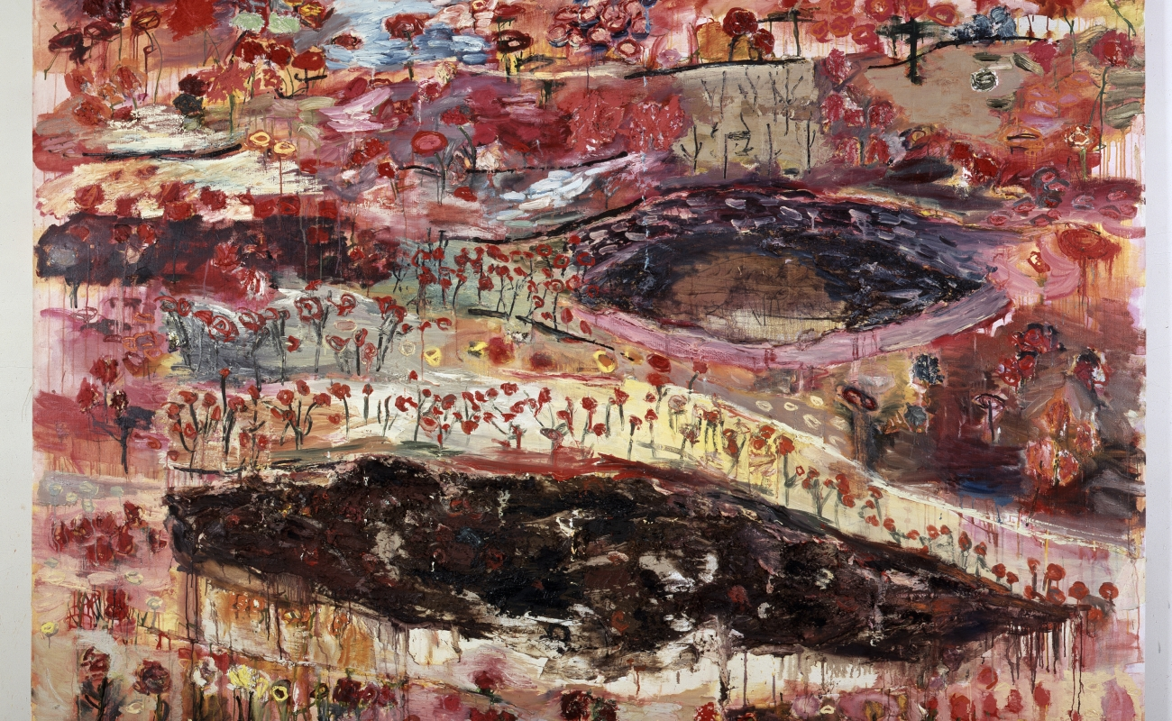 Joan Snyder: Recent Paintings
