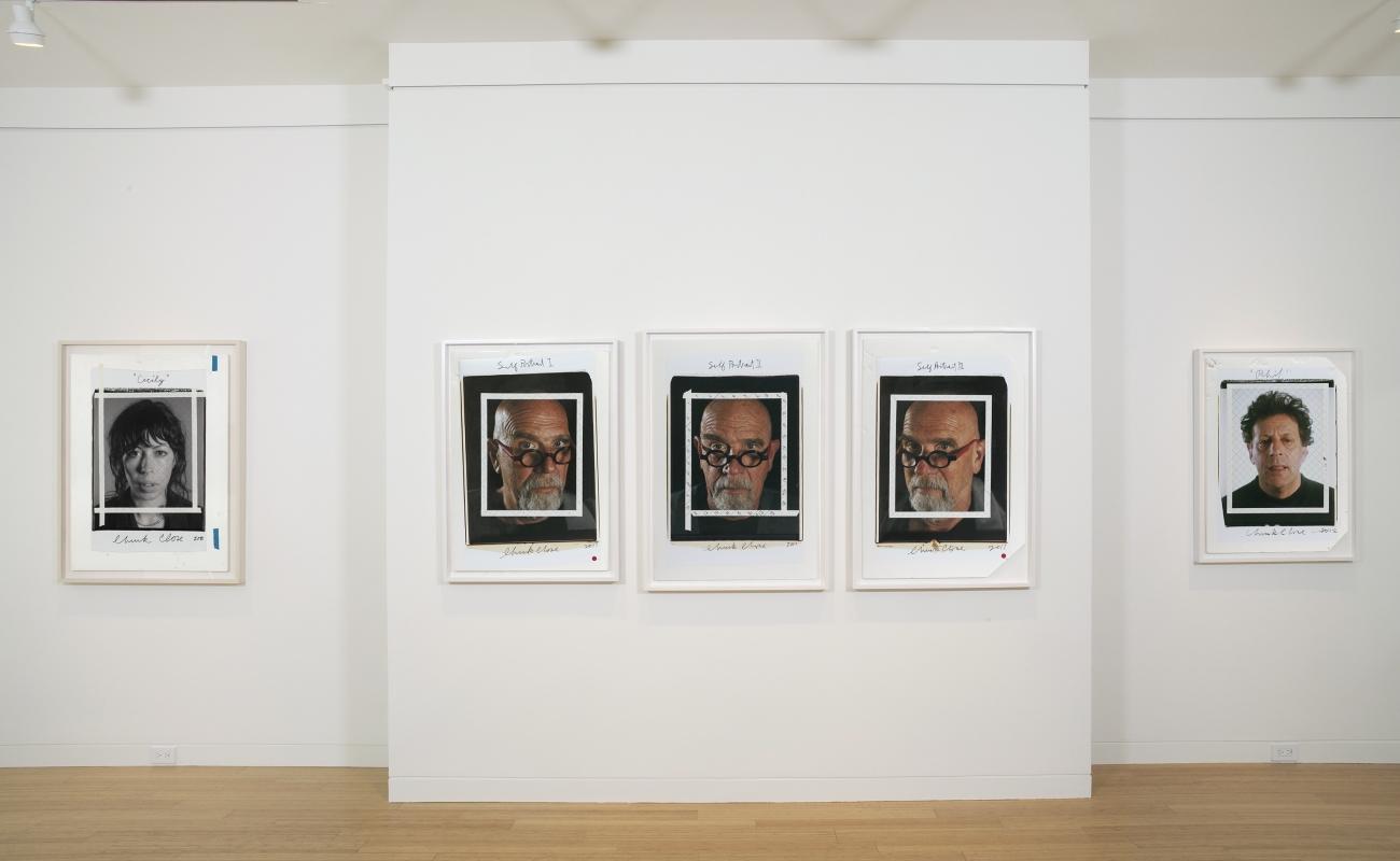 Chuck Close Photo Maquettes