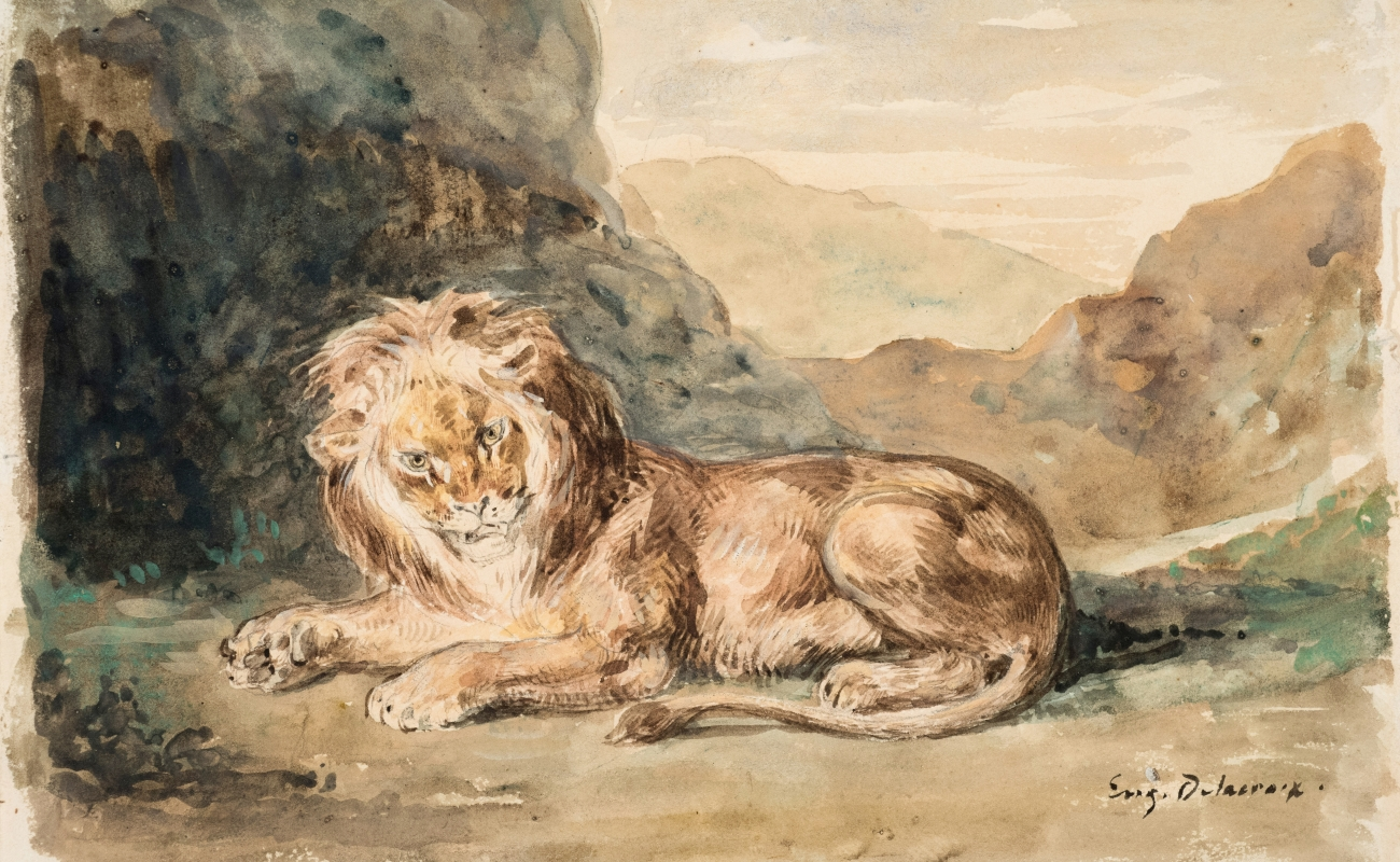 The Drawings of Eugène Delacroix
