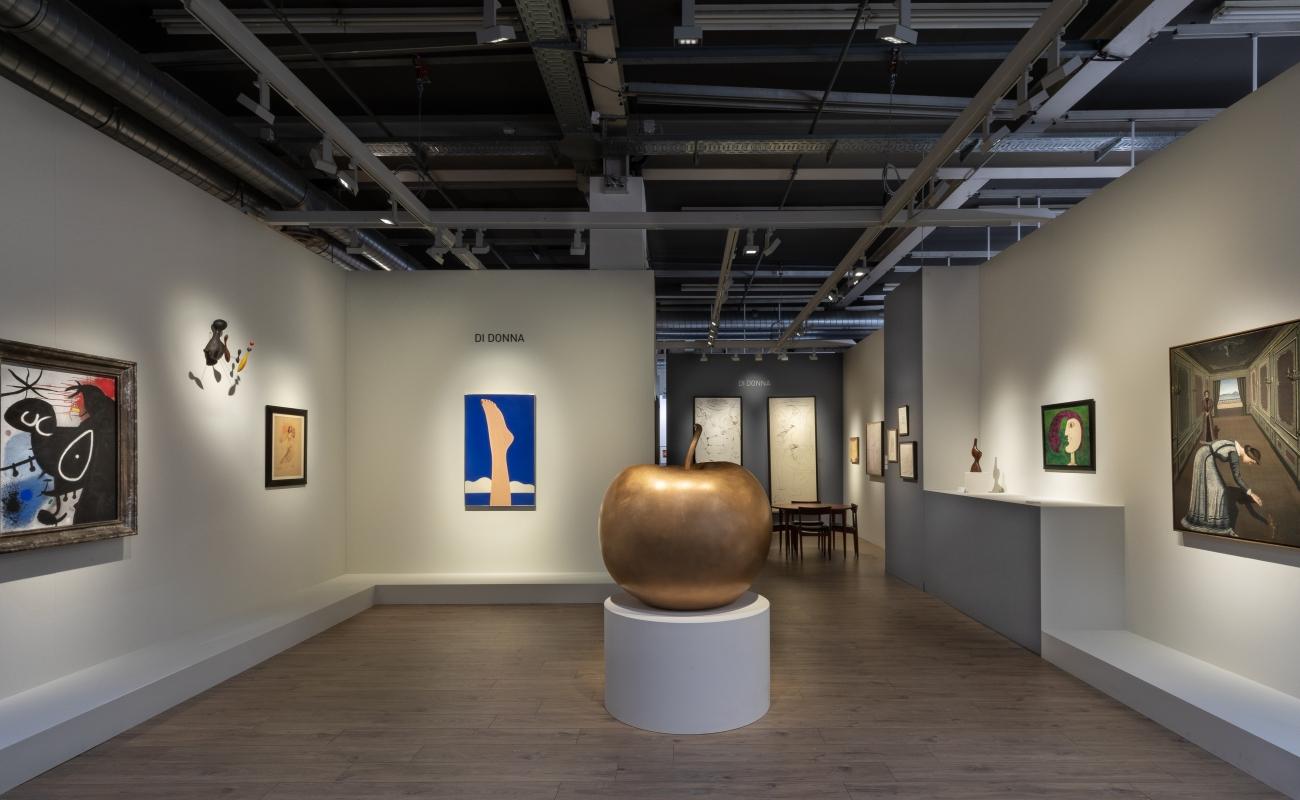 Art Basel 2019 Booth Install Shot