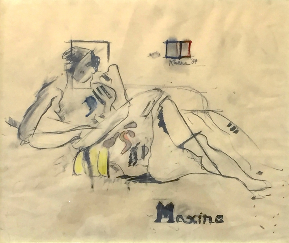 Works on Paper: 1960's - 80's