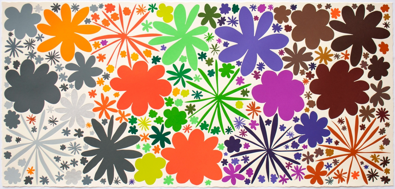 Summer of Love: Prints by Polly Apfelbaum