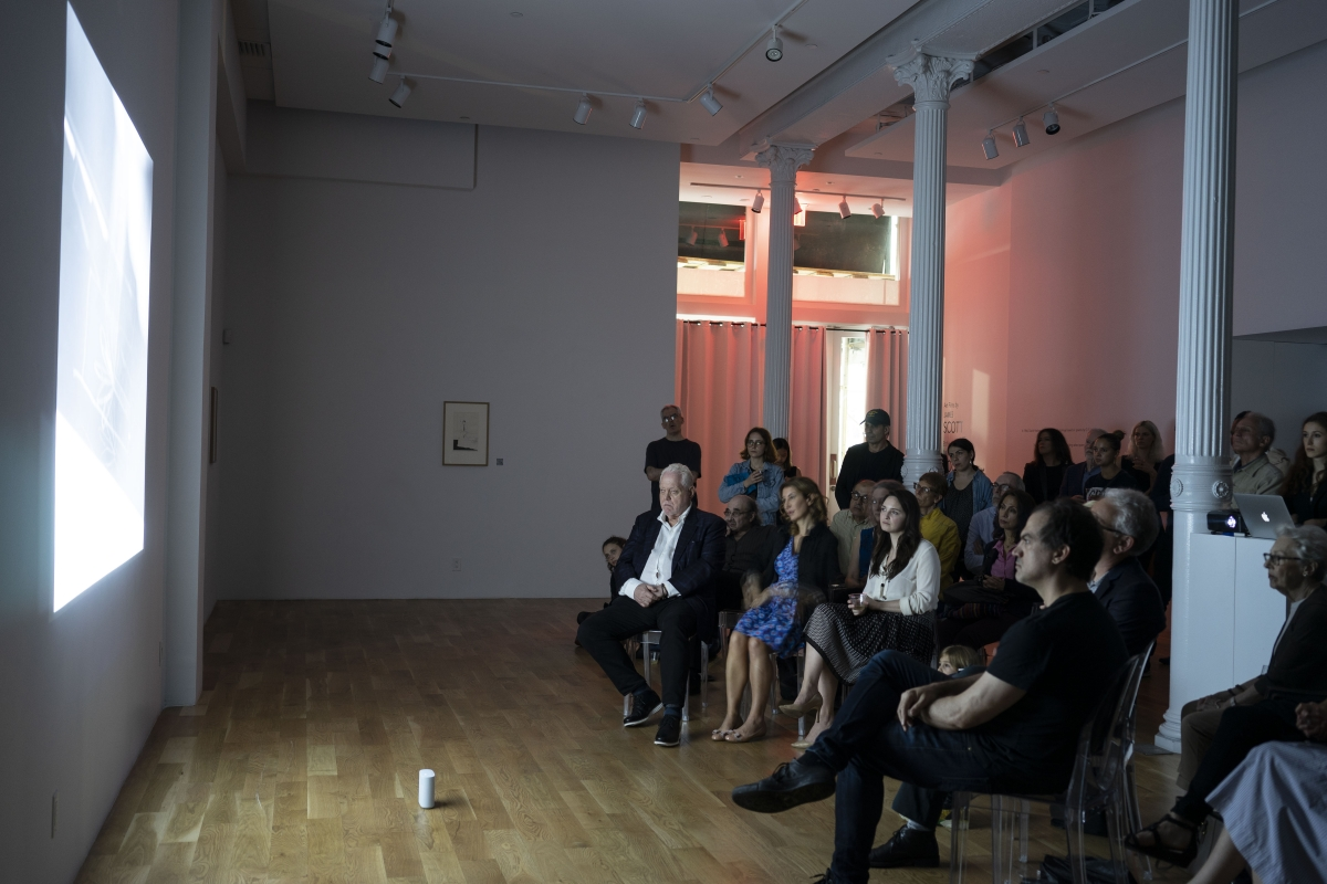 Art Films by James Scott, Etchings by David Hockney