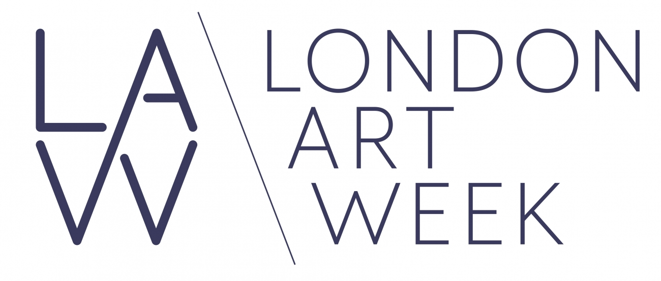 Logo for LAW London Art Week
