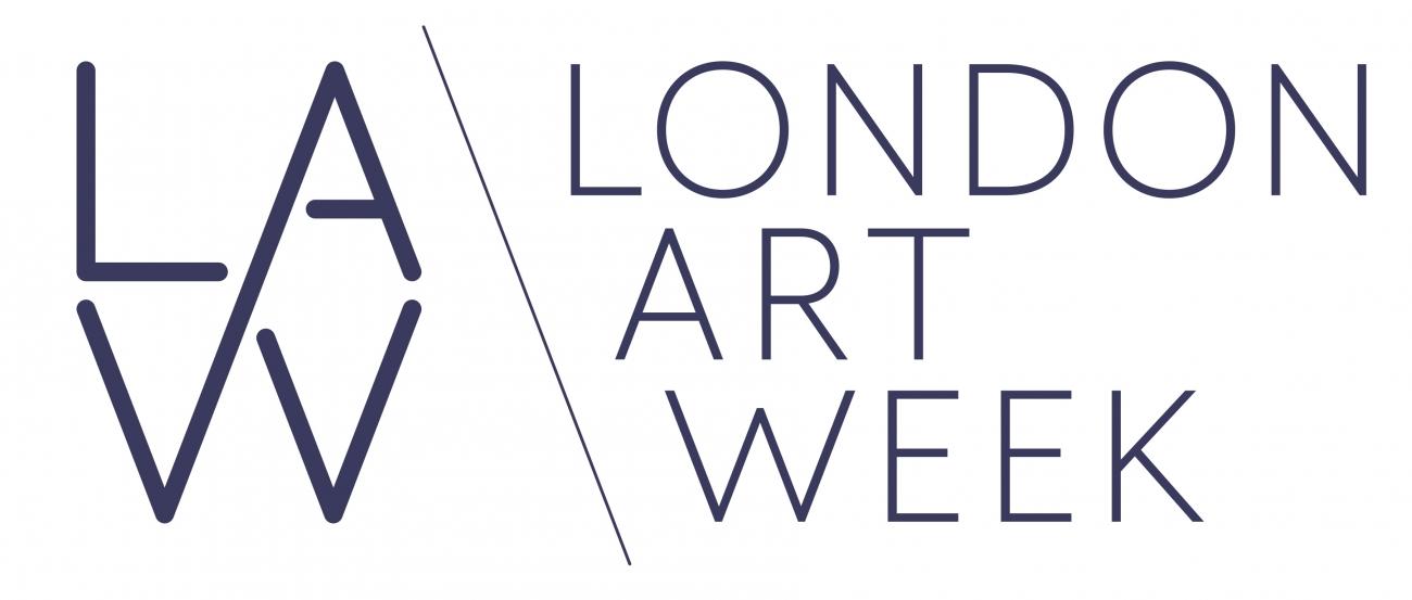 Logo for LAW London Art Week