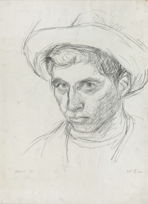 Wolf Kahn - Early Drawings