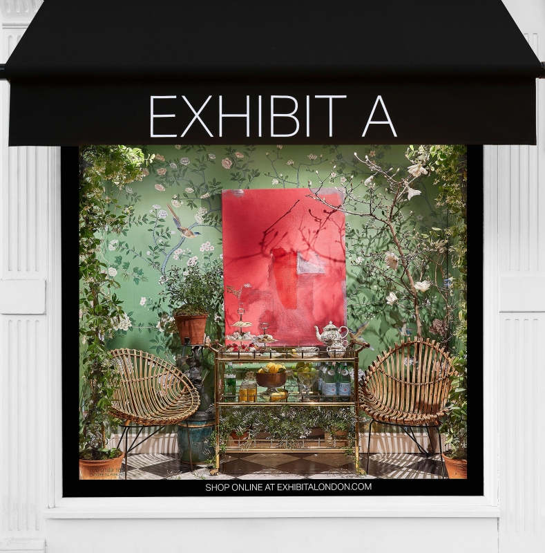 Collaboration with de Gournay, Longleat, and Willie Cole