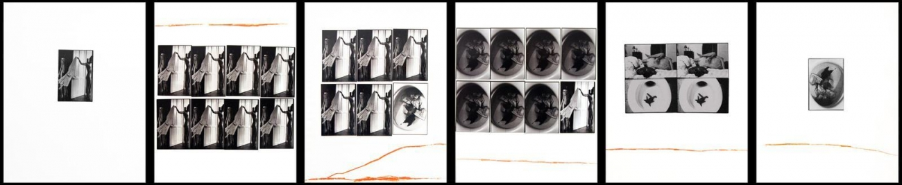Freed, LeonardShit, 1969 Gelatin silver prints with China Marker, printed c. 1969 11 x 14 inches