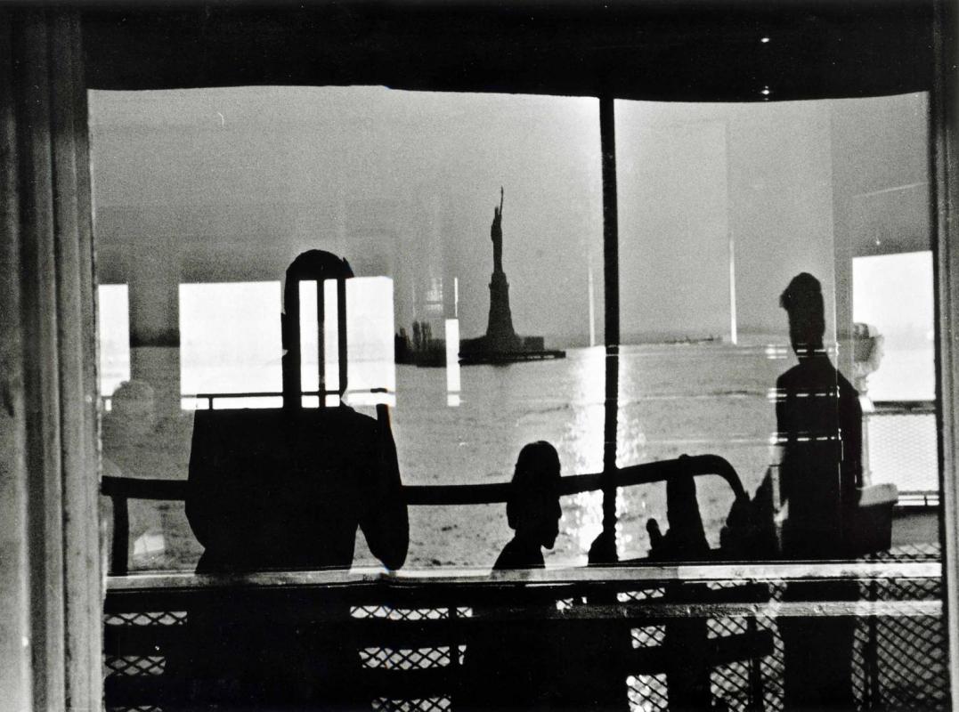 Frank Paulin - Staten Island Ferry, 1954 Gelatin silver print | Bruce Silverstein Gallery