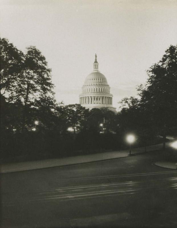 E. O. Hoppé - The Capitol, Washington D.C., 1926  | Bruce Silverstein Gallery