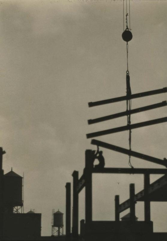 E. O. Hoppé - Steel Construction, Philadelphia, 1926  | Bruce Silverstein Gallery